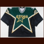2003-04 Scott Young Dallas Stars Game Worn Jersey