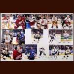 NHL Stars Autographed 11 x 14 Group of 13