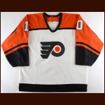 1993-94 Claude Boivin Philadelphia Flyers Game Worn Jersey