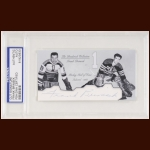 Frank Brimsek Autographed Card - The Broderick Collection - Deceased