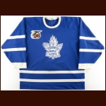 1991-92 Kevin McClelland Toronto Maple Leafs Game Worn Jersey – Turn Back The Clock – Photo Match