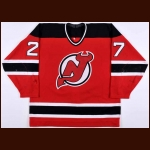 1996-97 Scott Niedermayer New Jersey Devils Game Worn Jersey – Team Letter