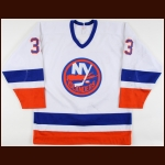 1984-85 Alan Kerr New York Islanders Game Worn Jersey – Rookie