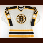 1996-97 Mattias Timander Boston Bruins Game Worn Jersey – Rookie
