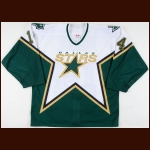 2003-04 Stu Barnes Dallas Stars Pre-Season Game Worn Jersey – Team Letter