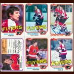 1981-82 Topps & OPC Philadelphia Flyers Autographed Card Group of 27