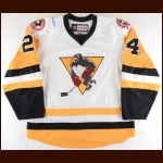 2016-17 Cameron Gaunce Wilkes-Barre Scranton Penguins Game Worn Jersey – Team Letter