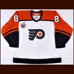 Eric Lindros Philadelphia Flyers Autographed Authentic Jersey  - 1992-93 Commemorative Rookie Jersey - Limited Edition #290 of 350