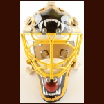 Early 1990's Andy Moog Boston Bruins Game Worn Mask