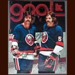 Jean and Denis Potvin Autographed Goal Magazine Cover