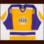 1982-83 Terry Ruskowski Los Angeles Kings Game Worn Jersey