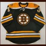 2008-09 Michael Ryder Boston Bruins Game Worn Jersey - Photo Match - Team Letter