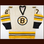 1977-79 Dwight Foster Boston Bruins Game Worn Jersey – Rookie