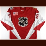 "1999 Tony Amonte NHL All Star Game Worn Jersey – ""1999 Tampa Bay All Star"" - Career Best 44-Goal Season – NHL Letter"