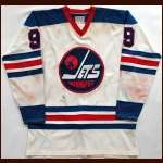 1974-75 Bobby Hull WHA Winnipeg Jets Game Worn Jersey - MVP Season - 50 Goals in 50 Games - 77 Goal Season - Photo Match