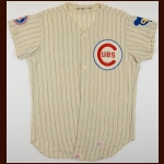 1968 Joe Niekro Chicago Cubs Game Worn Jersey – 3rd Party Authentication Letter – 2nd Major League Season