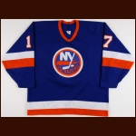1987-89 Brad Dalgarno New York Islanders Game Worn Jersey