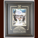 Sidney Crosby Pittsburgh Penguins Autographed Display – 2009 Stanley Cup  - Frameworth & NHL Holograms