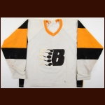 1983-84 Shawn Nagurny New Westminster Bruins Game Worn Jersey