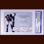 Frank Foyston Autographed Card – The Broderick Collection – Deceased