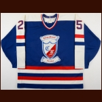 1991-93 Verdun College Francais Game Worn Jersey – Player #25