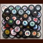 Mostly WHA Hockey Puck Group of 56