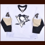 2014-15 Taylor Chorney Pittsburgh Penguins Game Worn Jersey