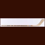 Butch Goring New York Islanders Sher-Wood Game Used Stick – Team Signed Including Bossy, Gillies, Nystrom & Tonelli - Stanley Cup Season