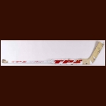 Dominik Hasek Detroit Red Wings White TPS Game Used Stick – Autographed