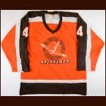 1987-88 Darryl Shannon Windsor Compuware Spitfires Game Worn Jersey - Max Kaminsky Trophy - Memorial Cup Final - The Darryl Shannon Collection – Darryl Shannon Letter