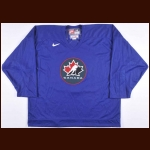 "2002 Jason Arnott Team Canada Olympics Training Camp Worn Jersey - ""Respect"""