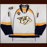 "2015-16 Cody Hodgson Nashville Predators Game Worn Jersey – ""2016 Nashville All Star"" - Photo Match – Team Letter"