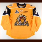 2011-13 Peter Sakaris Shawinigan Cataractes Game Worn Jersey