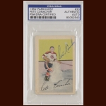 Pete Conacher 1952 Parkhurst - Chicago Blackhawks - Autographed - PSA/DNA