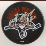 Pavel Bure Florida Panthers Autographed Puck