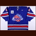 1998-99 Carlin Nordstrom Rochester Americans Game Worn Jersey
