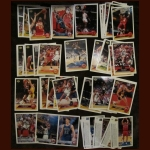 1992/1993 MCDONALDS/UPPER DECK BASKETBALL 50 CARD COMPLETE SET IN PLASTIC PAGES WITH BINDER