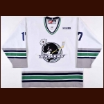Chad Larose Plymouth Whalers Pre-Season and Alumni Game Worn Jersey