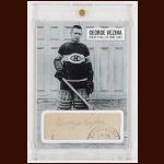 Georges Vezina Autographed Card – Deceased