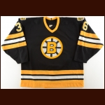 1988-89 Moe Lemay Boston Bruins Game Worn Jersey - Photo Match