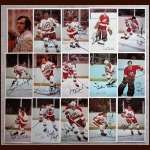 1972-73 Atlanta Flames Autographed Color Postcard Group of 15 - Including Boom Boom Geoffrion (Deceased), Phil Myre & 2 Other Deceased - 1st Year Flames