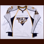 2009-10 Hugh Jessiman Nashville Predators Training Camp Worn Jersey – Team Letter