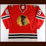 1973-74 Chicago Blackhawks Game Worn Jersey + Training Camp Worn Jersey – Player #63 - The Gunzo's Collection
