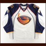 2010-11 Tim Stapleton Atlanta Thrashers Game Worn Jersey - Photo Match