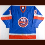 1980-81 Lorne Henning New York Islanders Game Worn Jersey - Stanley Cup Season