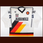 Mid 1980's German National Team Game Worn Jersey – Player #25