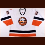 2001-02 Eric Cairns New York Islanders Game Worn Jersey – Team Letter