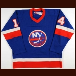 1978-79 Bob Bourne New York Islanders Game Worn Jersey