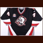 "1998-99 Rhett Warrener Buffalo Sabres Stanley Cup Finals Game Worn Jersey – ""1999 Stanley Cup Finals"" – Team Letter"