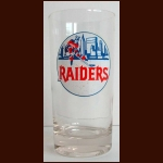 1972-73 WHA New York Raiders Original Logo Drinking Glass